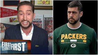 Nick SHOCKED Aaron Rodgers could take a year off from football!!